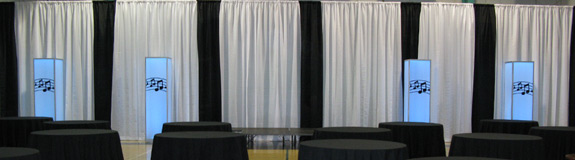 boston event drapery, drapes and draping