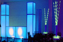 Glow Towers, Glow bars and glow tables provide event lighting